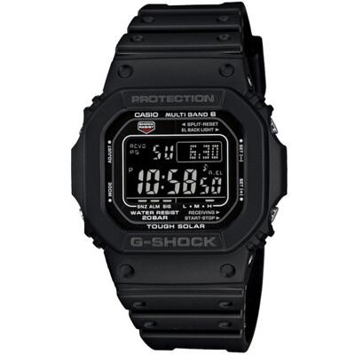 G-SHOCK 酷黑經典5600太陽能六局電波錶(GW-M5610-1B) (9.8折)