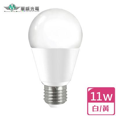【軍威光電 】↘ 88元 LED 11W E27 電光泡 (11W耗電提供13W亮度) (4.4折)