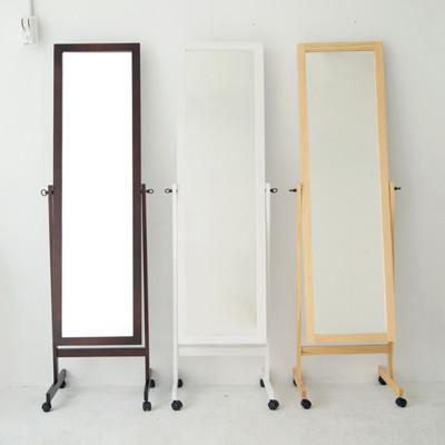 全身立鏡/附輪/穿衣鏡/MIT台灣製/三色可選/Q0063 (3.8折)