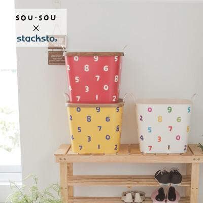 stacksto sou sou花漾籃/收納籃/野餐/居家收納/7色/A0023 (6.7折)