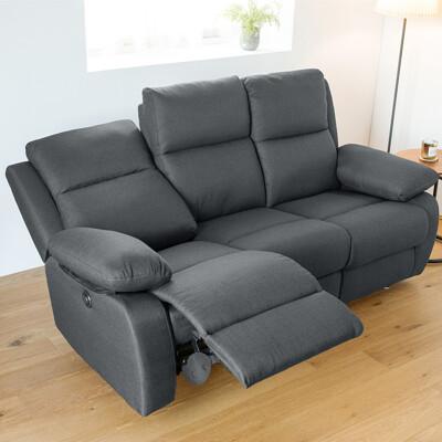 可躺式帝王電動布沙發/電動沙發/沙發/椅/三人沙發/雙人沙發/沙發床/2色/Y0040 (6.7折)