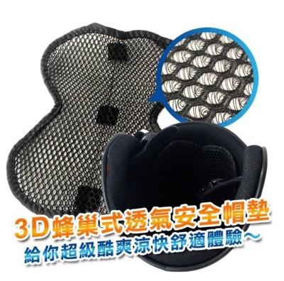 3D蜂巢式透氣安全帽墊 (1.2折)