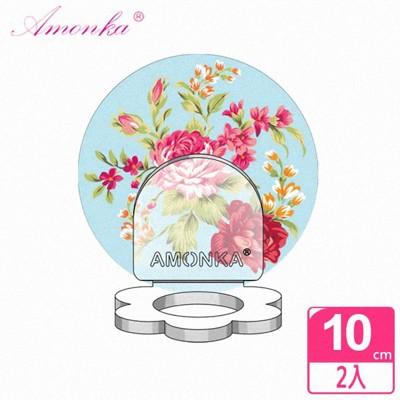 【AMONKA】3R神奇無痕掛勾花瓣造型乳液罐(凡爾賽玫瑰-藍)(2入/組) (5.1折)