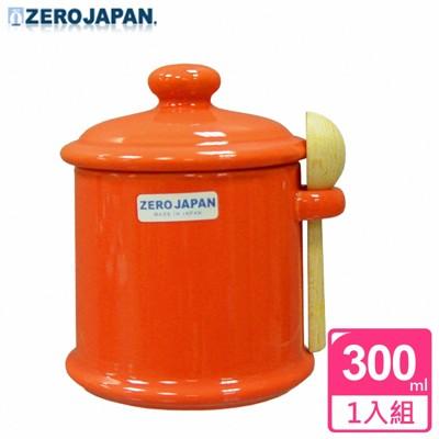【ZERO JAPAN】陶瓷儲物罐(蘿蔔紅)300ml (5.2折)