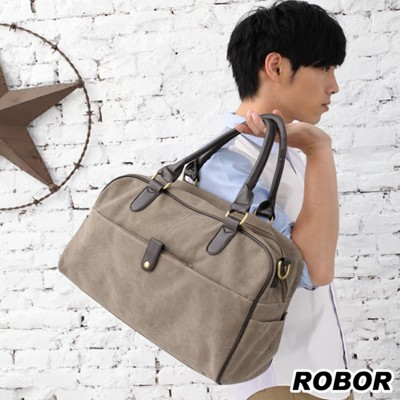 韓系型男 ROBOR品味都會型男側背/手提/斜背三用包(軍綠) (3.7折)