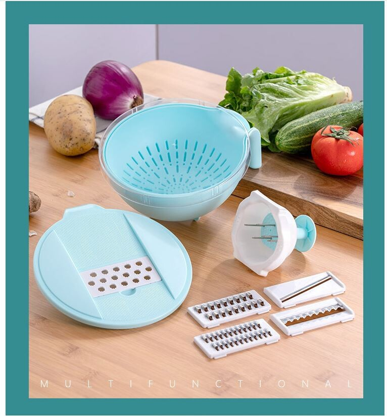 切菜神器瀝水盆土豆絲切絲器多蘿蔔刨絲器擦絲土豆切片器