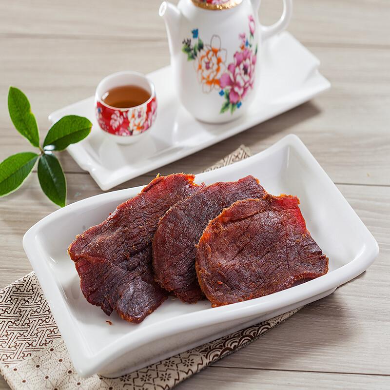 黃金香肉乾原味豬肉乾  200g