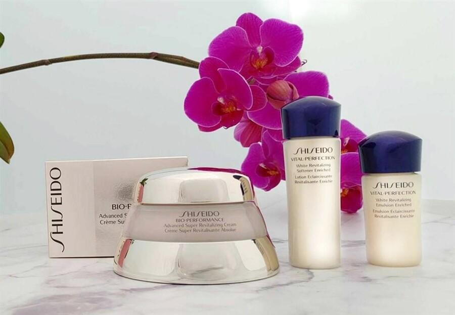 shiseido 資生堂 百優精純乳霜75ml +全效抗痕兩件組