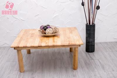 『居傢樂生活館』天然原木折疊和室桌3尺3 摺疊桌 和室桌 (7.7折)