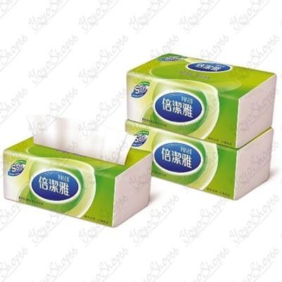 超大心倍潔雅150抽 [單包賣][湊運費最佳商品] 超質感抽取式衛生紙 連續抽取式衛生紙#416 (6.3折)