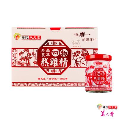 華陀扶元堂-冬蟲夏草四物熬雞精1盒(6瓶/盒) (6.6折)