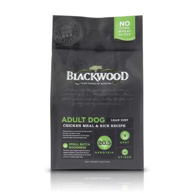 【BLACKWOOD柏萊富】特調低卡保健(雞肉+米)犬飼料/乾糧-5LB(2.2kg) (7.6折)