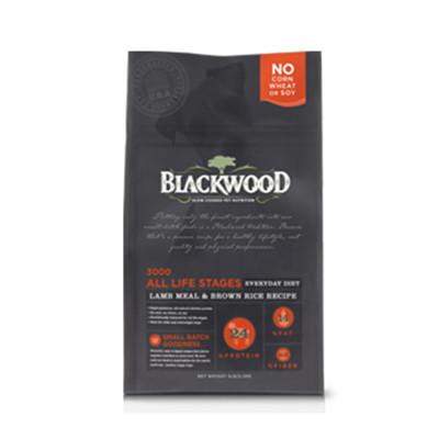 【BLACKWOOD柏萊富】特調全齡犬配方(羊肉+糙米+雞肉)犬飼料/乾糧-15LB(6.8kg) (8.5折)