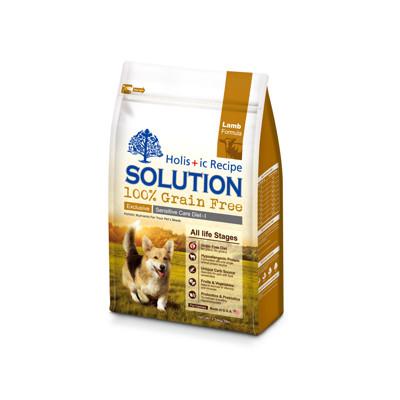 【SOLUTION耐吉斯】成幼犬澳洲羊肉無穀低敏柔膚-16磅(6.8kg) (8折)