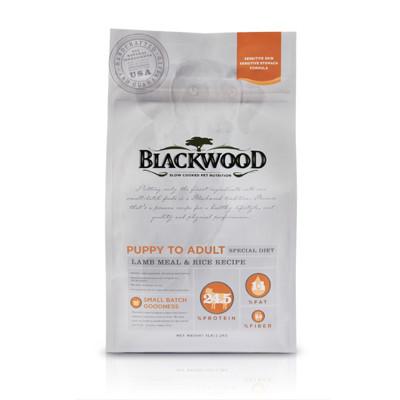 【BLACKWOOD柏萊富】功能性全齡護膚亮毛(羊肉+米)犬飼料/乾糧-15LB(6.8kg) (8.7折)