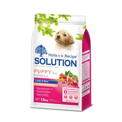 【SOLUTION耐吉斯】幼犬羊肉田園蔬菜-3公斤 (7.8折)