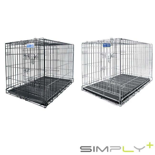 simply plus 烤漆摺疊籠 2尺 黑色sp-dmm1-24 / 銀色sp-dmm2- 共兩色