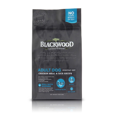 【BLACKWOOD柏萊富】特調成犬活力(雞肉+米)犬飼料/乾糧-5LB(2.2kg) (8折)