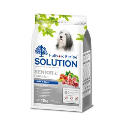 【SOLUTION耐吉斯】高齡犬羊肉田園蔬菜-15公斤 (8.6折)