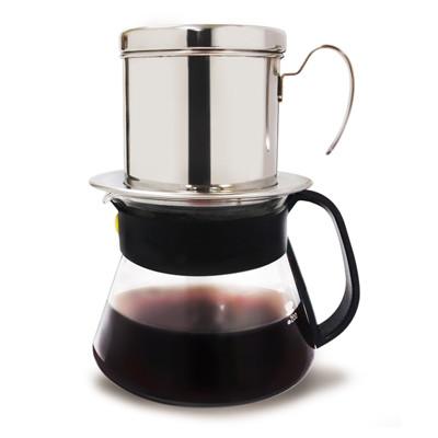 滴滴咖啡壺+玻璃咖啡壺組(禮盒組) (5折)