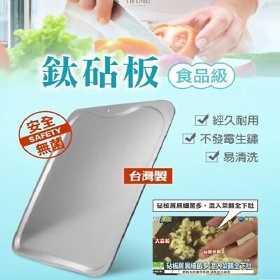 【鈦豐】台灣製抗菌鈦砧板/鉆板 (8.1折)