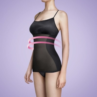 Bast 芭絲媞 塑身細肩帶背心 - 經典黑 (9折)