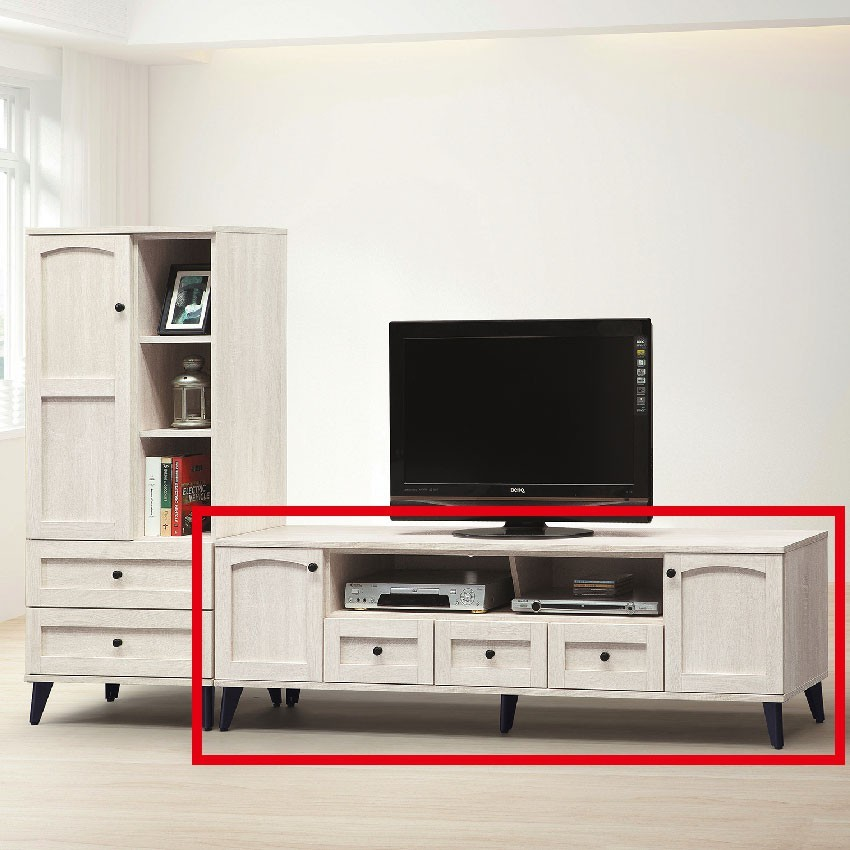 182cm長櫃-e407-2客廳組合長櫃 展示收納櫃 北歐工業風 tv櫃 金滿屋
