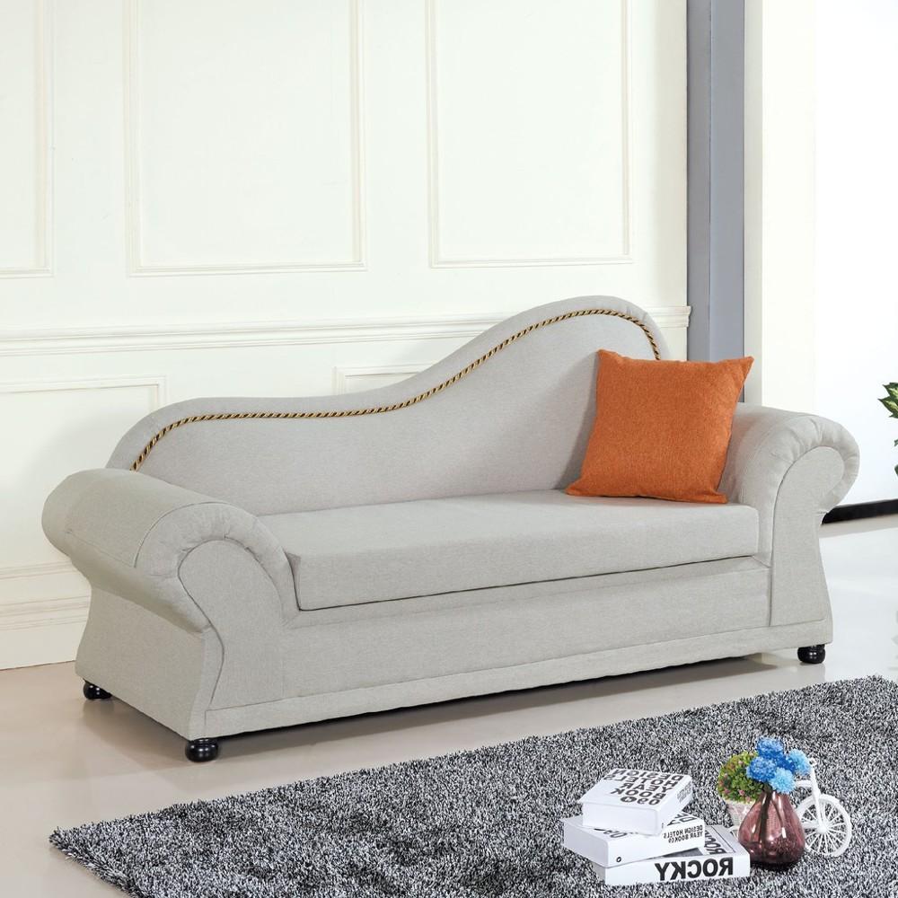 200cm面右布貴妃椅-c663-2 l型沙發 貓抓皮 布沙發 沙發床 沙發椅 金滿屋