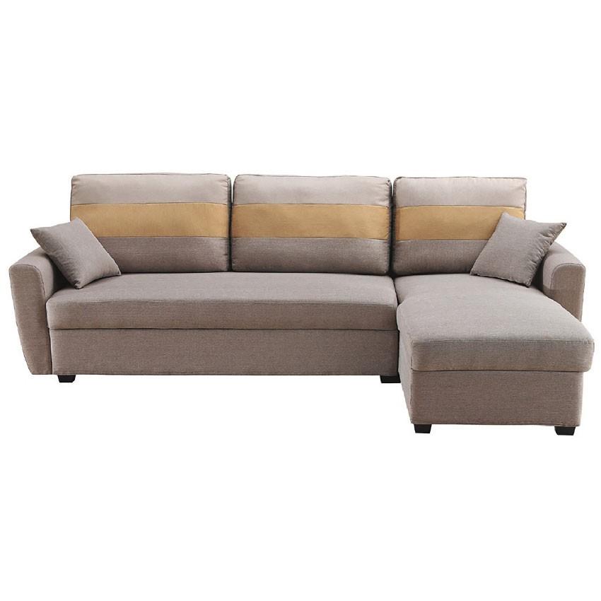 235cm儲物l型布沙發-e319-5 l型沙發 貓抓皮 布沙發 沙發床 沙發椅 金滿屋