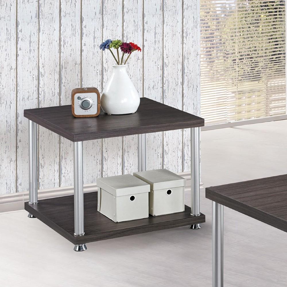 60cm小茶几-c683-4實木原木玻璃 大理石長方桌 大小邊几 圓桌  金滿屋