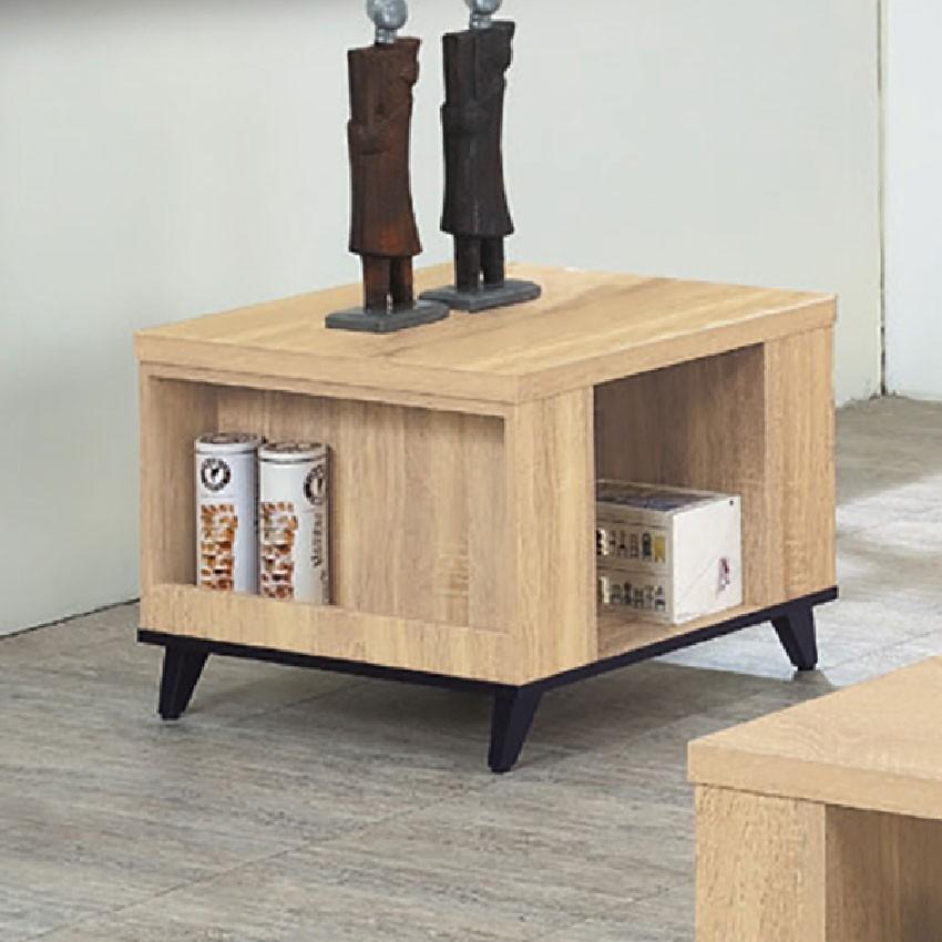 60cm小茶几-e369-6實木原木玻璃 大理石長方桌 大小邊几 圓桌  金滿屋