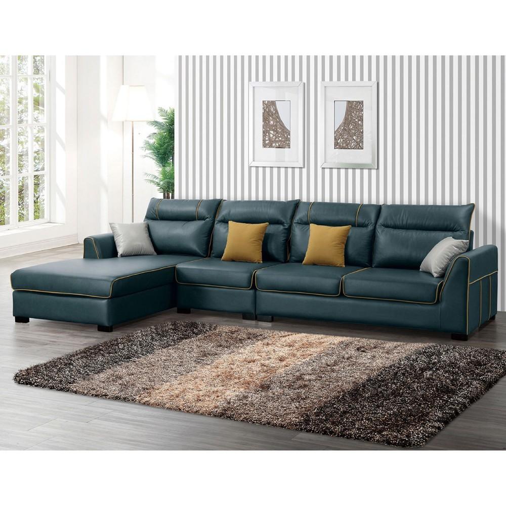 340cml型右向布沙發-a223-3 單人座 l型沙發 貓抓皮 布沙發 沙發床 沙發椅 金滿屋