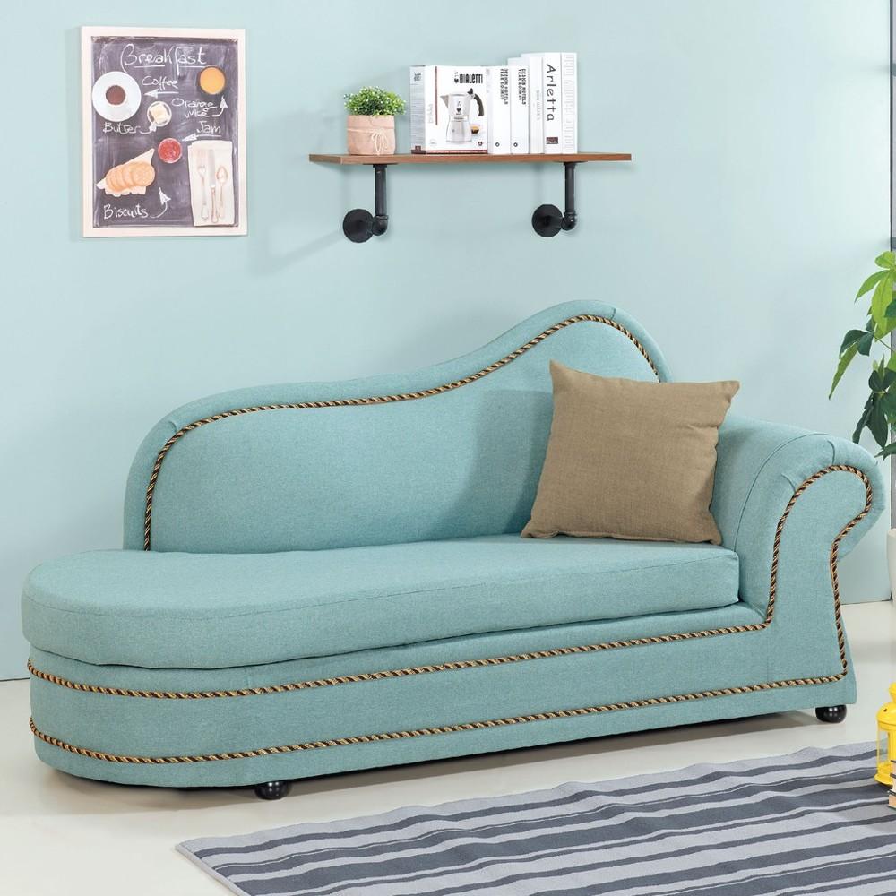 183cm面右布貴妃椅-c663-4 l型沙發 貓抓皮 布沙發 沙發床 沙發椅 金滿屋