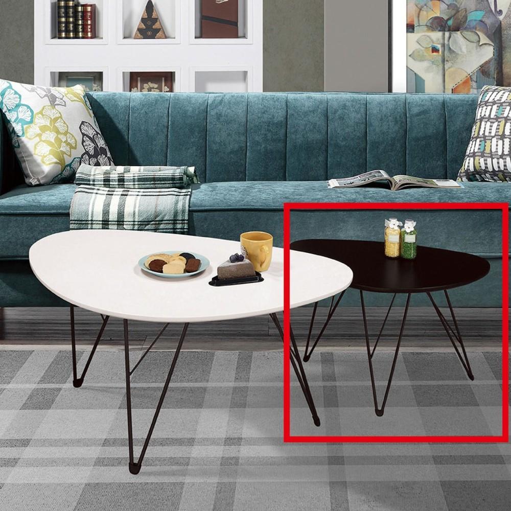 60cm小茶几-a316-5實木原木玻璃 大理石長方桌 大小邊几 圓桌  金滿屋