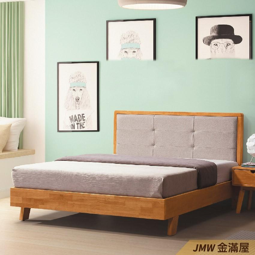 [免運]標準雙人5尺 床底 單人床架 高腳床組 抽屜收納 臥房床組金滿屋q178-1 -
