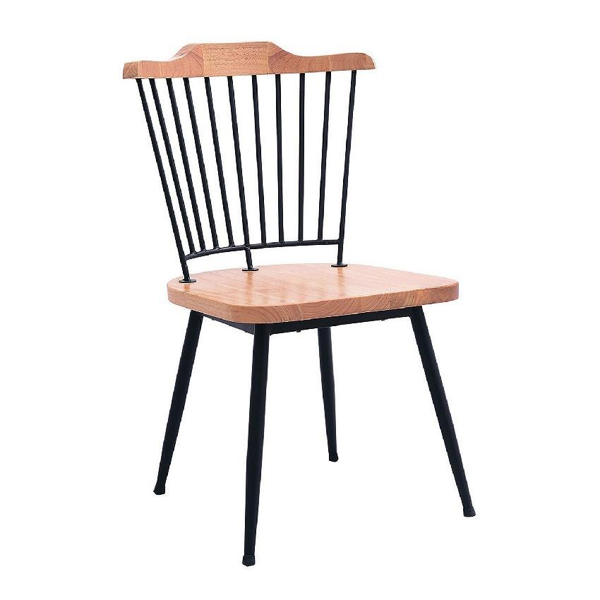 52cm餐椅-e766-2餐椅 北歐工業風 書桌椅 長凳 實木椅 皮椅布椅 餐廳吧檯椅 會議椅金滿