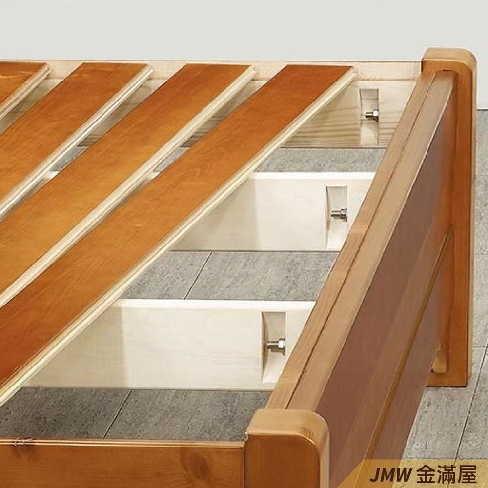 [免運]標準單人3.5尺 床底 單人床架 高腳床組 抽屜收納 臥房床組金滿屋r079-1 -