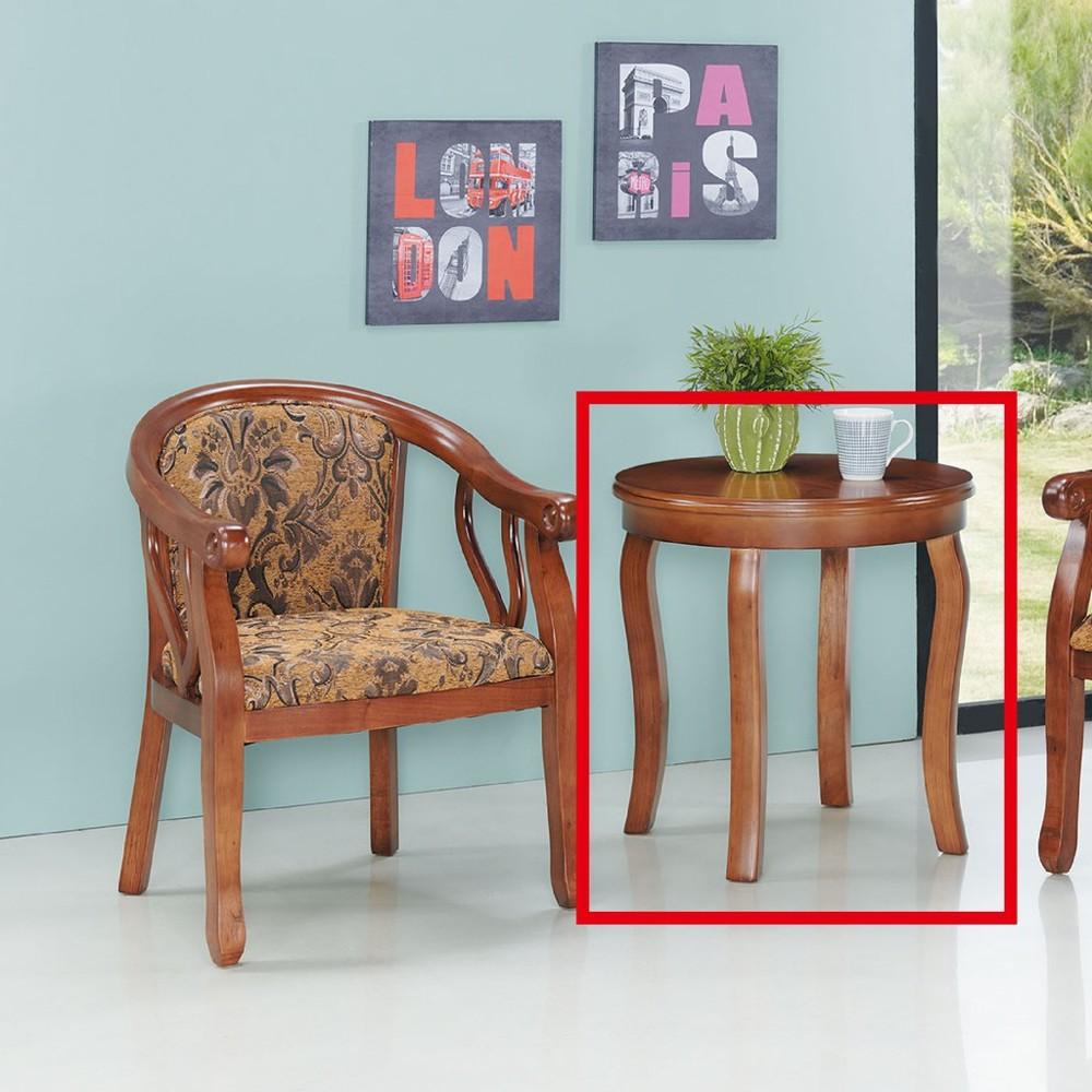 60cm小茶几-c604-2實木原木玻璃 大理石長方桌 大小邊几 圓桌  金滿屋