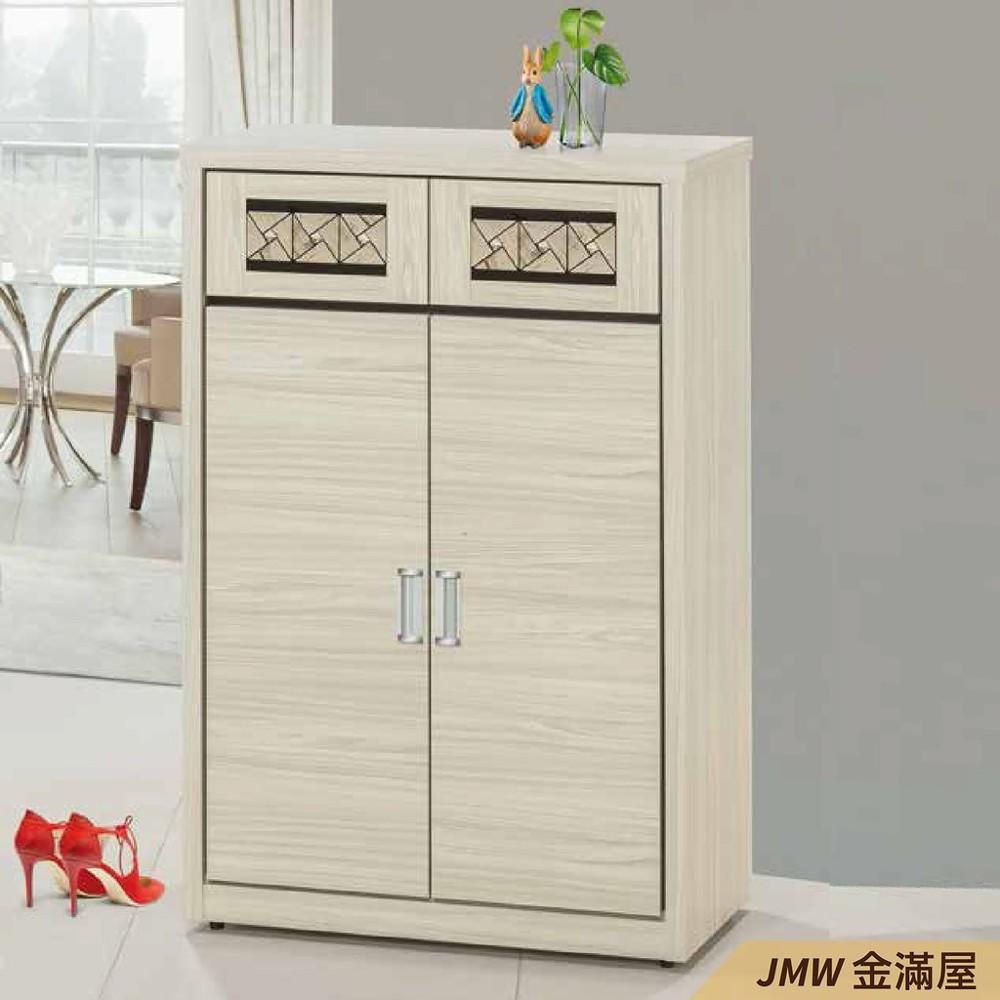80cm鞋櫃 高矮櫃 坐式鞋櫃椅 櫥櫃子 玄關雙面櫃金滿屋整理收納櫃 鞋架-r404-2 -