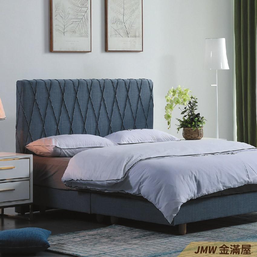 [免運]標準雙人5尺 床底 單人床架 高腳床組 抽屜收納 臥房床組金滿屋q163-2 -