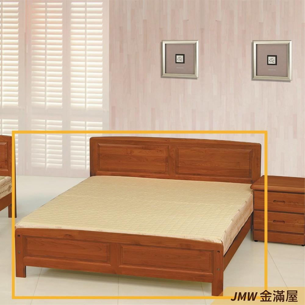 標準雙人5尺 床底 單人床架 高腳床組 黑白色加大 臥房床組金滿屋k140-851 -