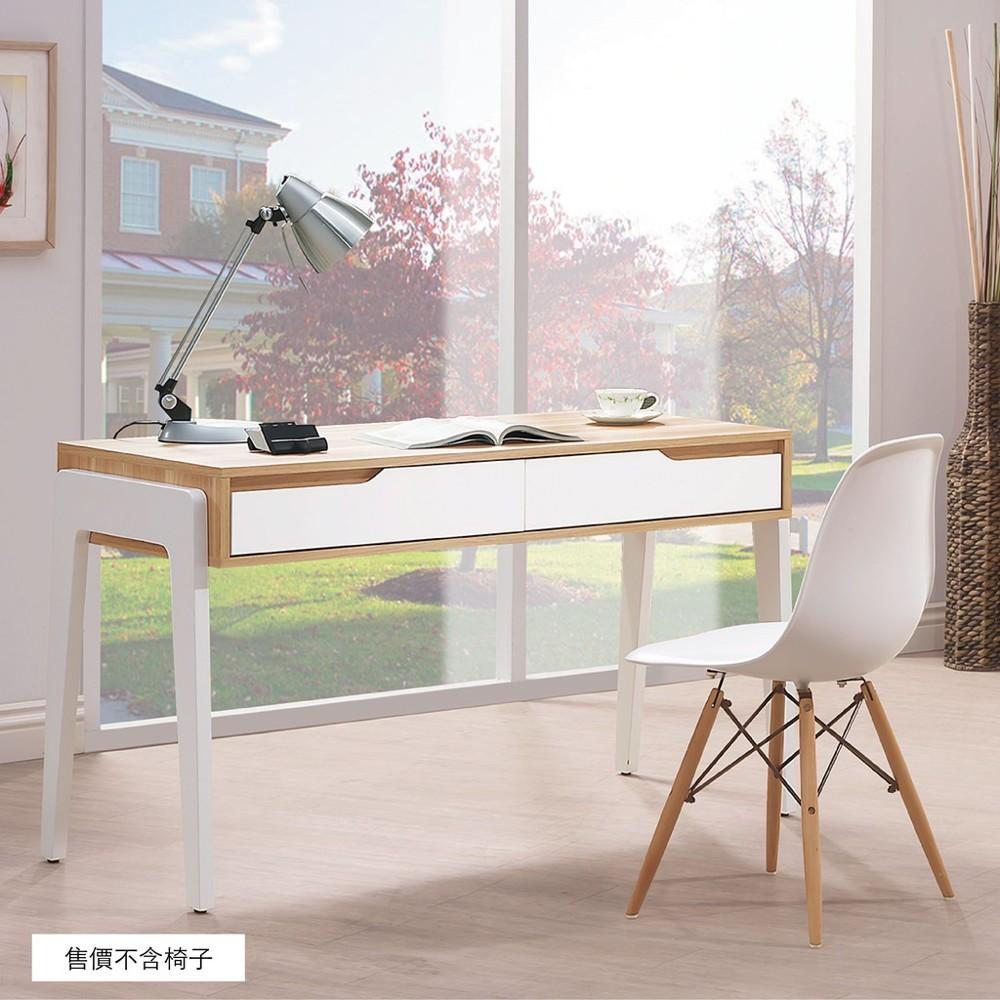 126cm書桌-b483-03工業風工作桌 書櫃型書桌 書桌加書櫃 金滿屋