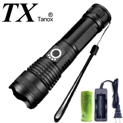 TX特林XHP-50 LED超強亮USB充電手電筒(T-BESTVIP-P50) (6.3折)