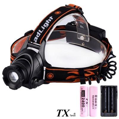 TX特林XML-T6黃光伸縮變焦強亮頭燈(HD-YW-T6) (7.8折)