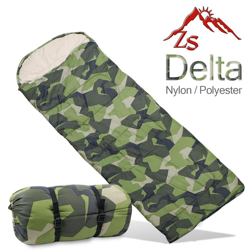zs delta 高級迷彩保溫棉睡袋