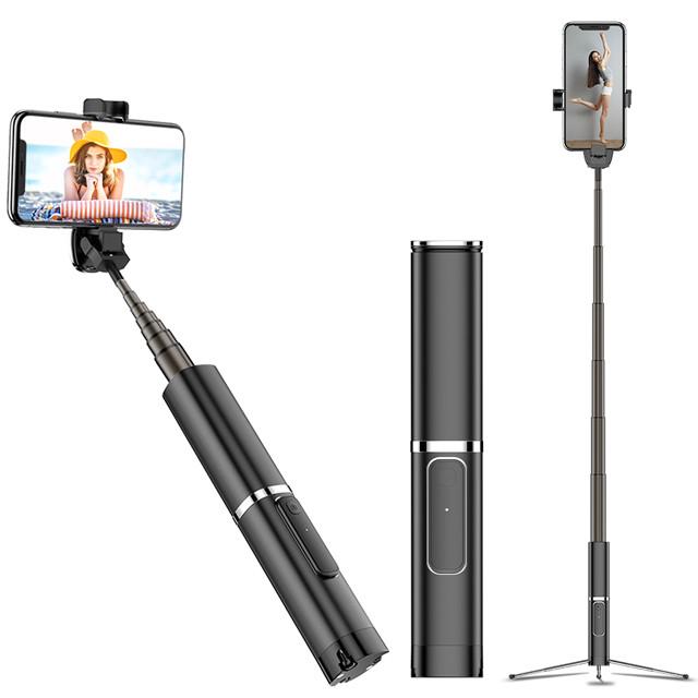 幻影 手機藍牙自拍棒 一體式三腳架 時尚高質感鋁合金外殼 藍芽伸縮棒 360度自由旋轉 ncc認證
