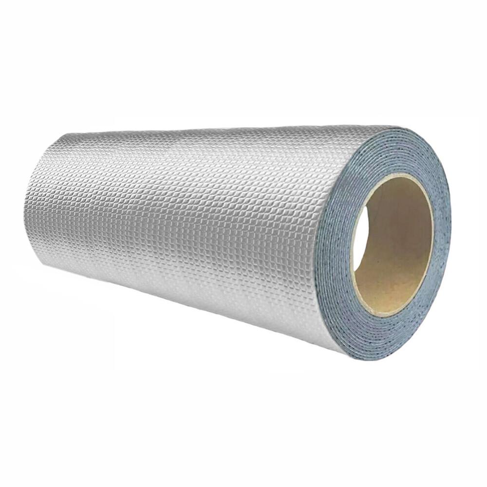 防水補漏貼 第一代30cm 鋁箔方格防漏膠帶 丁基膠帶 屋頂牆壁裂縫滲水水管漏水抓漏止漏 橡膠