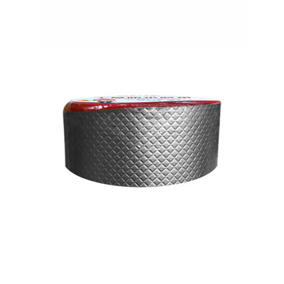 防水補漏貼 第二代 5cm 鋁箔方格防漏膠帶 丁基膠帶 屋頂牆壁裂縫滲水水管漏水抓漏止漏 橡膠 (4.6折)