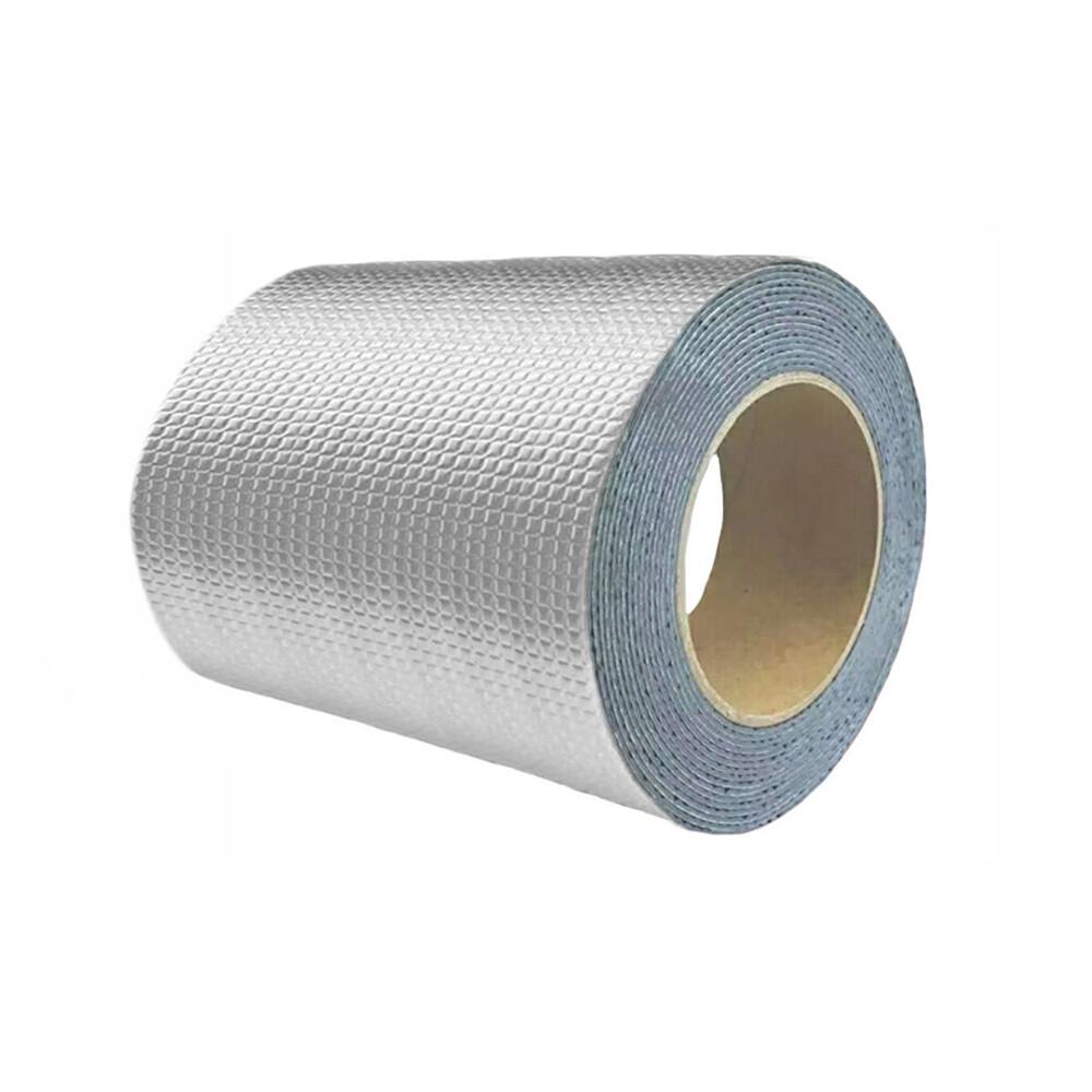 防水補漏貼 第一代 15cm 鋁箔方格防漏膠帶 丁基膠帶 屋頂牆壁裂縫滲水水管漏水抓漏止漏 橡膠