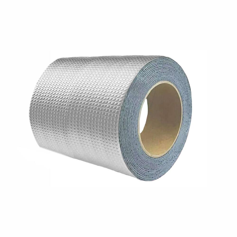 防水補漏貼 第一代 10cm 鋁箔方格防漏膠帶 丁基膠帶 屋頂牆壁裂縫滲水水管漏水抓漏止漏 橡膠